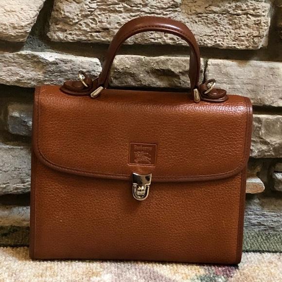 7233adf792a Burberry Handbags - Vintage Burberrys Handbag